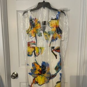 Milly pop art floral Ella dress NWT